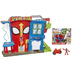 playskool heroes marvel spider-man adventures stunt