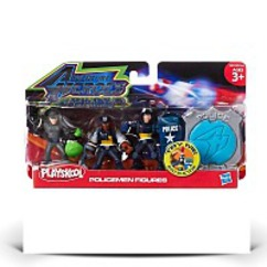 Adventure Heroes Policemen Figures Multi