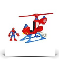 Marvel Super Hero Adventures Heroes Helicopter