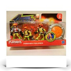 Playskool Adventure Heroes Firemen Figures