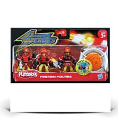 Playskool Adventure Heroes Red Firemen