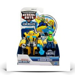 Discount Rescue Bots Energize Bumblebee And Graham