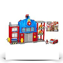 Discount Rescue Bots Playskool Heroes Fire Station