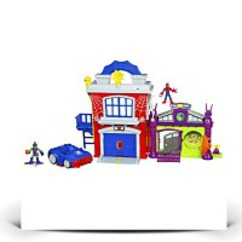 Discount Super Hero Adventure Crime Fighter Headquarter