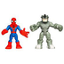 marvel spider-man adventures rhino playskool heroes