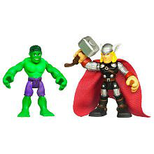 2 Pack Hulk And Thor