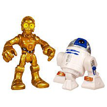 Star Wars 2011 Playskool Jedi Force Mini Figure 2PACK R2D2 C3PO